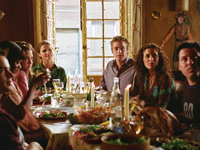 Felicity | 13. FELICITY ''Thanksgiving'' (1998) Behold, a Thanksgiving miracle built on disappointment! Noel (Scott Foley) breaks up with long-distance girlfriend Hannah (Jennifer Garner), who's headed off…