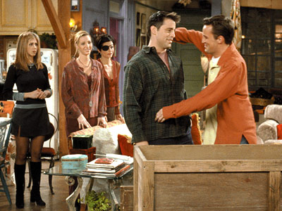 Friends | 9. FRIENDS ''The One with Chandler in a Box'' (1999) Chandler's string of crappy Thanksgivings (see: comically painful childhood) hits a peak after he's caught…