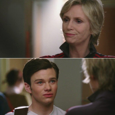 Glee, Jane Lynch | ''So you like show tunes. It doesn't mean you're gay. It just means you're awful.''