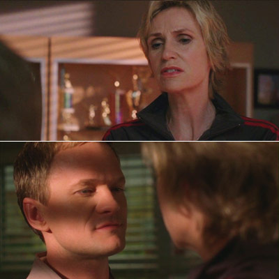 Jane Lynch, Glee, ... | Bryan (Neil Patrick Harris, pictured): You ever heard of the term 'anger sex'? Sue: The only kind I know.