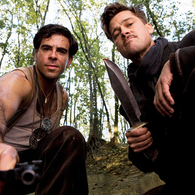 Inglourious Basterds, Brad Pitt, ... | Quentin Tarantino's bloody (and hilarious) anti-Nazi revenge flick is one of only three films (along with The Hurt Locker and Precious ) to score the…
