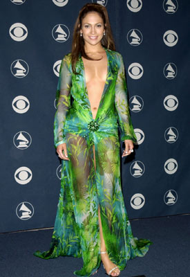 Jennifer Lopez | Jennifer Lopez at the Grammys (2000) Gowns come prettier, classier, and even skimpier. But J.Lo's down-to-there Versace earned its place in fashion history thanks to…