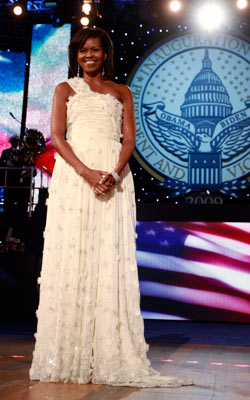 Michelle Obama   [Michelle Obama's] inauguration dress is already iconic. It should have been picked! — Annie