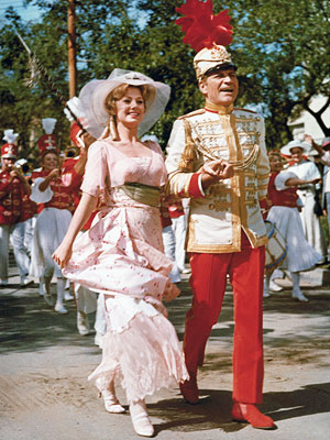Shirley Jones, Robert Preston | 23. The Music Man (1962) Robert Preston repeats his Broadway role as Professor Harold Hill, a swindler who organizes small-town kids' bands so he can…