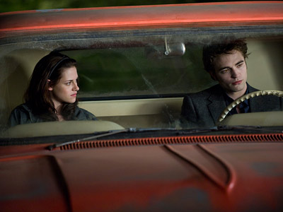 The Twilight Saga: New Moon, Kristen Stewart, ... | 4. Speedy suitor ''We did a little trick when Edward gets out of Bella's truck and they're arguing. We wanted to show Edward moving impossibly…