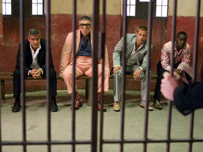Ocean's Twelve, Brad Pitt, ... | The cast of Ocean's Twelve ''Even now the cast seems to acknowledge that movie was little more than a reason for them to tool around…