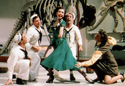 Ann Miller, Gene Kelly, ... | 13. On the Town (1949) Three randy sailors (Gene Kelly, Frank Sinatra, and Jules Munshin) have 24 hours to find love in New York City.…