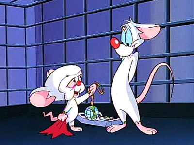 Pinky and the Brain, Vol. 1 | Oddly enough, I watch A Pinky & the Brain Christmas every year. Yes, that Pinky & the Brain , the one about animated mice. I…