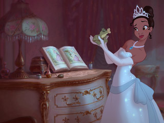 The Princess and the Frog | PUCKER UP Tiana and her amphibious paramour in The Princess and the Frog