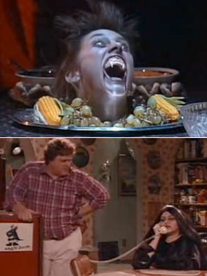 Roseanne | 6. ROSEANNE ''Boo!'' (1989) Roseanne 's Halloweens, with their outrageous gags and elaborate stunts, are so beloved, there's even a special DVD of them. Might…