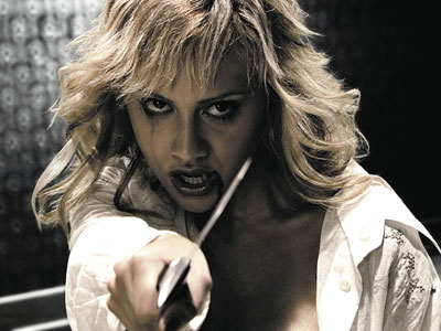 Brittany Murphy, Sin City | Murphy flexed her film noir muscles in the adaptation of Frank Miller's graphic novel, playing Shellie the barmaid.