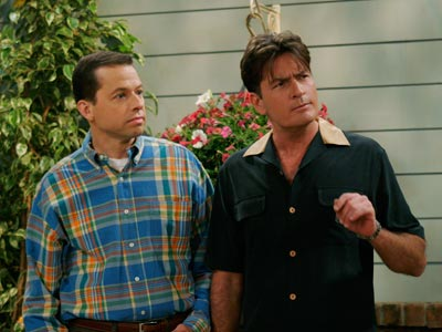 Two and a Half Men | Two and a Half Men My dad loves that show. There are some shows that are a little too sexual to watch with your parents...and…