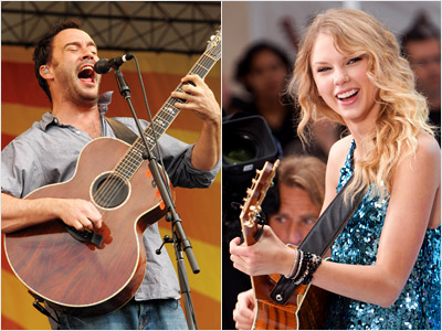 Taylor Swift, Dave Matthews   ALBUM OF THE YEAR Will win: Dave Matthews Band's Big Whiskey and the GrooGrux King Taylor Swift and Beyoncé both have a decent shot, but…