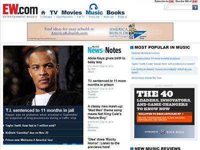 Buick extended the ?40 under 40? sponsorship with a custom digitorial unit online. The ad unit featured ?40 under 40? editorial content from EW.com as…
