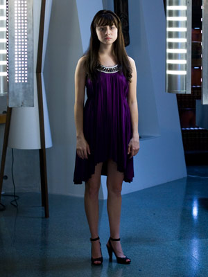 Caprica | 4. Is this the coolest metaphor ever? Caprica begins with a fascinating invention: Zoe Graystone (Alessandra Torresani) figures out how to make a virtual clone…