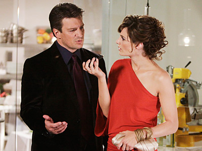 Beckett & Castle (Stana Katic and Nathan Fillion) Castle They're both single and sexy — and spend way too many hours at the police station.…