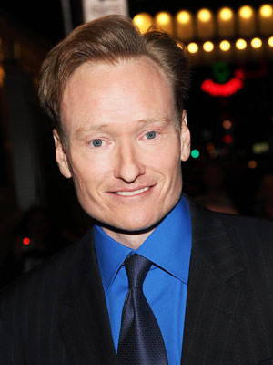 Conan O'Brien   Possibly a record producer or A&R person who looks good but doesn't care that they do? Or forget all that, and just hire Conan —…