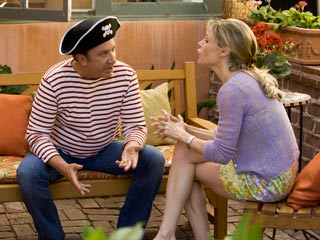 Tim Allen, Crazy on the Outside | THAT HAT DOESN'T MAKE YOU JOHNNY DEPP Tim Allen and Julie Bowen squabble in Crazy on the Outside