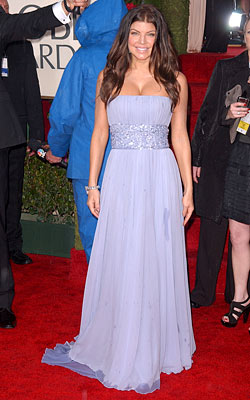 Golden Globe Awards 2010   FERGIE What do you think of this look? ( polls )