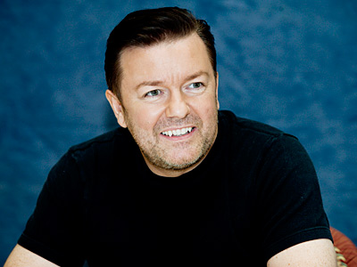 Ricky Gervais | RICKY GERVAIS Your host for Sunday night's Golden Globes ceremony, and appearing right here in a live streaming video at 8 p.m. Eastern