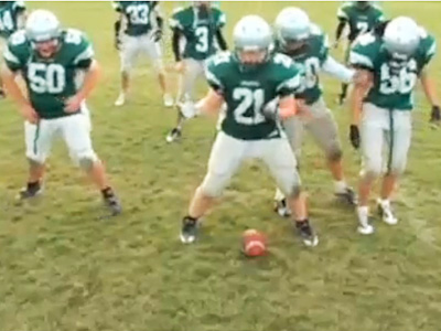 Glee | ''SINGLE LADIES'' PEP RALLY An actual high school football team re-enacts the on-the-field scene. Sloppy, yes, but still very funny. See the ''Single Ladies'' pep…