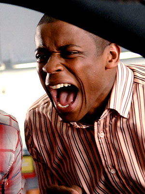 Psych, Dule Hill | Because, unless you actively need rescuing by one, grown men screaming like girls are just funny.