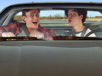 How I Met Your Mother, Jason Segel, ... | ''Dual Citizenship,'' season 5, episode 5 ''I really like when Marshall and Ted hop in the car and travel distances,'' says Radnor, citing the current…