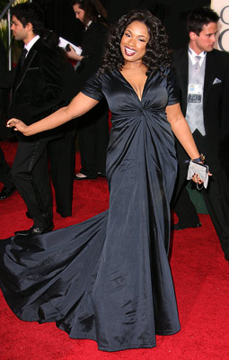 Jennifer Hudson | Jennifer Hudson in 2007 Cap sleeves and a twist-front made for one winning silhouette for this Dreamgirl .