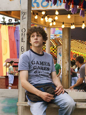Adventureland, Jesse Eisenberg   ? Jesse Eisenberg , the kid from Adventureland and Zombieland , could pull it off. [Peter Parker] needs to be geeky and awkward. He's a…