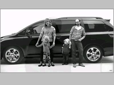 Toyota?s 2:35 ?Swagger Wagon? commercial spot ran prior to the film in all markets