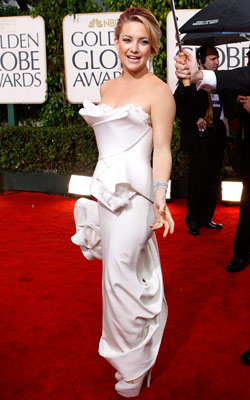 Golden Globe Awards 2010   KATE HUDSON What do you think of this look? ( polls )