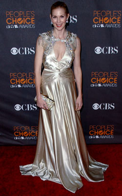 Kelly Rutherford | KELLY RUTHERFORD An ill-fitting Jenny Packham dress was no match for the ever-fashionable Lily Humphrey. D