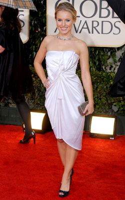 Golden Globe Awards 2010   KRISTEN BELL What do you think of this look? ( polls )