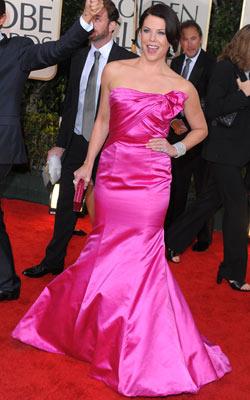 Golden Globe Awards 2010   LAUREN GRAHAM What do you think of this look? ( polls )
