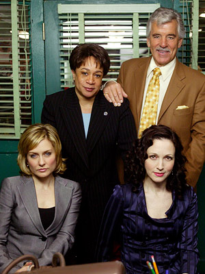 Amy Carlson, Bebe Neuwirth, ... | Law & Order: Trial by Jury (NBC, 2005-2006) Dick Wolf's Law & Order franchise comes in many flavors. There's the original, which has chugged quietly…