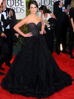 LEA MICHELE What do you think of this look? ( polls )
