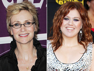 Jane Lynch, Kelly Clarkson   Damn — Jane Lynch (who plays Sue Sylvester on Glee ) would be a freaking amazing pick. She has Glee under her belt now, so…