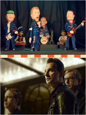 Coldplay, Depeche Mode   BEST SHORT FORM MUSIC VIDEO Will win: Coldplay's ''Life in Technicolor'' Coldplay + puppets = surefire Grammy bait. Should win: Depeche Mode's ''Wrong'' Their awesomely…