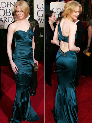Nicole Kidman | Nicole Kidman in 2005 In this plumage-accented teal Gucci, the gorgeous star had every reason to feel proud as a peacock.