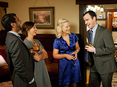 Parks and Recreation recap: House party at Leslie's! Leslie and Justin celebrated another successful date. I'm loving this pairing, by the way. Homely, ambitious Leslie…