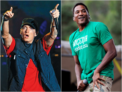 Q-Tip, Eminem   BEST RAP ALBUM Will win: Eminem's Relapse Em has won this award three times in the past. Everyone else in this category? Zero. Should win:…
