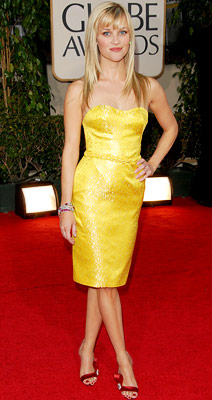 Reese Witherspoon | Reese Witherspoon in 2007 The canary yellow Nina Ricci, the red-hot heels, the crisp new haircut: It all added up to a look that was…