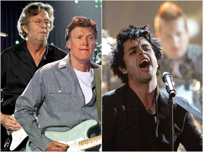 Green Day, Eric Clapton   BEST ROCK ALBUM Will win: Eric Clapton & Steve Winwood's Live From Madison Square Garden Clapton and Winwood could surprise everyone by beating more obvious…