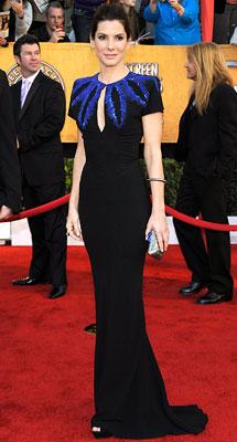 Sandra Bullock   Sandra Bullock at the SAG Awards, Jan. 2010 McQueen's designs have been a staple in the current red carpet season with devotees like Sandra Bullock,…