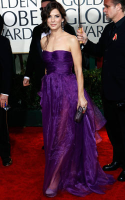 Golden Globe Awards 2010   SANDRA BULLOCK What do you think of this look? ( polls )
