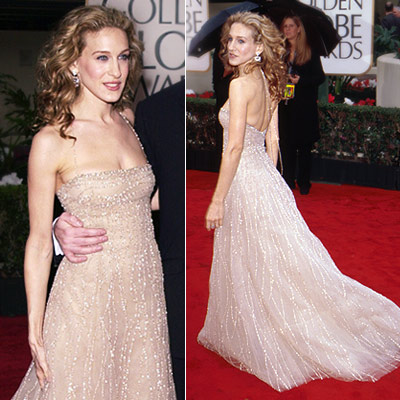 Sarah Jessica Parker | Sarah Jessica Parker in 2000 This champagne Richard Tyler gown was the first perfect look to kick off a decade of stellar style for the…