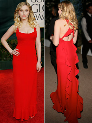 Scarlett Johansson | Scarlett Johansson in 2006 While her walk down the red carpet would make news for other reasons , we remember the Valentino's perfect fit and…