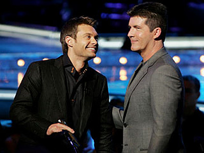 Simon Cowell & Ryan Seacrest American Idol We're kidding. Sorta. But after enduring seven years of their cringe-worthy gay themed banter, here's hoping they share…