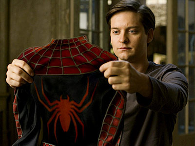 Spider-Man 3, Tobey Maguire   Can we just stick to Tobey Maguire ?! I think he really fits the character. — myra