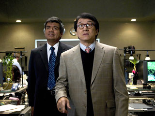 Jackie Chan, George Lopez, ...   COMPANY MEN George Lopez and Jackie Chan play government agents in The Spy Next Door